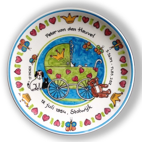 birth plate/baby name plates
